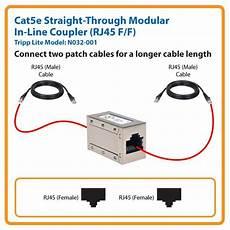 amazon com tripp lite cat5e straight through modular in