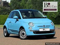 used 2013 fiat 500 lounge blue me aux in usb for sale