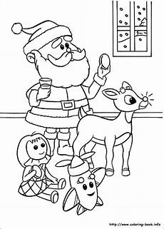 rudolph and clarice coloring pages at getcolorings