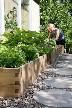 Gartengestaltung Mit Holz - cr 233 er le plus beau jardin avec le gravier pour all 233 e