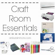craft room essentials