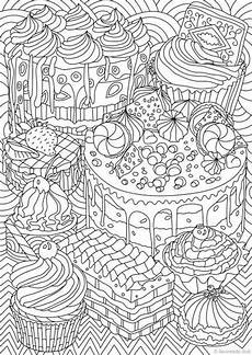 sweet treats printable coloring page from favoreads etsy