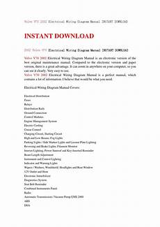 volvo v70 2002 electrical wiring diagram manual instant download by fjsenfjsne issuu
