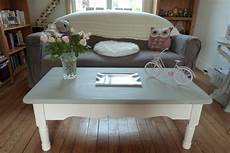 table basse peinte avec la chalk paint d sloan