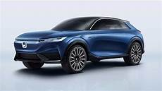 honda shows off suv e concept and cr v phev ahead of auto china 2020
