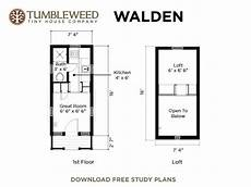 tumbleweed tiny house plans free download walden tiny house with dormers