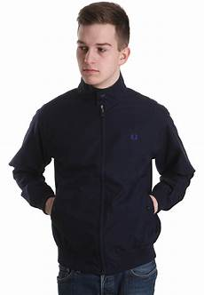 fred perry harrington navy jacket streetwear shop