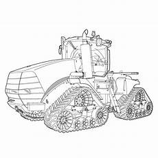 of the tractor coloring book octane press