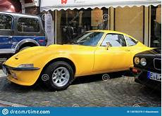 opel gt oldtimer car in kettwig district of essen