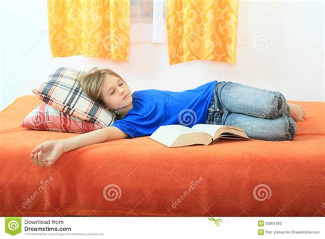 Naked Girl Sleeping On Bed