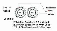 guitar cab wiring diagram impedance speaker cabinet wiring 300guitars