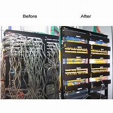 Neat Patch Economical Patch Panel Cable Management Rack