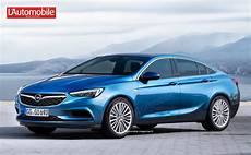Neuer Opel Insignia - this is how the new opel insignia will look like