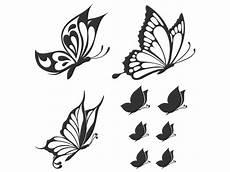 Dekorative Schmetterlinge Wandtattoo Dekorative Falter Bei