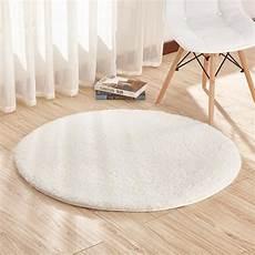 blanc tapis salon carpet tapis chambre rond tapis shaggy