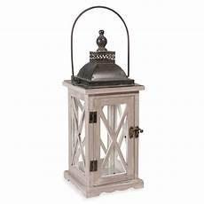 lanterne en bois lanterne en bois h 36 cm petitix maisons du monde