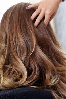meche couleur cheveux couleur marron avec meche coiffure coiffure2017