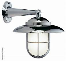 foresti suardi 2060c side arm wall light chrome contemporary outdoor wall lights and