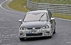2017 Golf R Variant Facelift Makes Nurburgring Debut In
