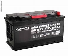 agm batterie 100ah 353x175x190mm f 252 r t5 carbest 850530