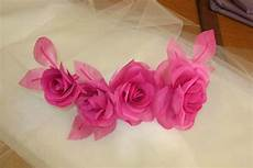 fiori in tessuto tutorial fashion sartoria in tessuto