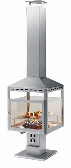 holzkohle im kamin heibi edelstahl holzkohle grill kamin fuoco 51214 072