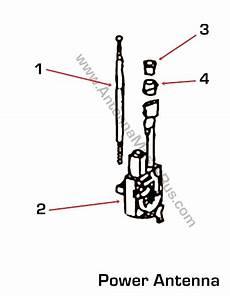 power antenna schematic toyota