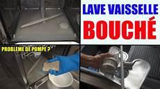 Lave Vaisselle Bouch 233 Filtre Pompe Ne Vidange Pas L Eau Ne