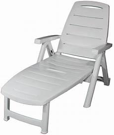 Chaise Longue De Jardin Pvc
