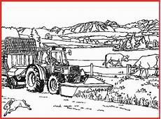 Ausmalbilder Bauernhof Traktor Ausmalbild Bauernhof Traktor Rooms Project