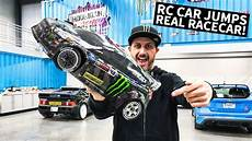 ken block ken block s 1 8 scale rc shred session around real racecars