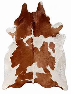 kuhfell teppich braun brown white cowhide rug favorite places spaces