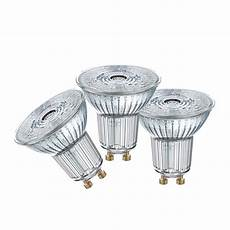 Led Gu10 Osram - osram daylight 7w 575lm gu10 glass led globe 3 pack