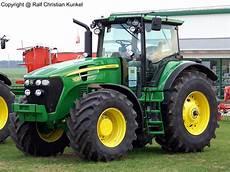 deere 7830 traktor schlepper fotografiert am 08