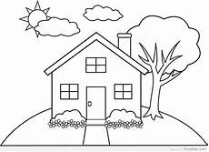 simple house drawing for at getdrawings free