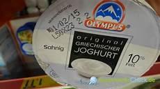 Griechischer Joghurt Kalorien - olympus original griechischer joghurt natur 10 fett