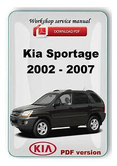 old cars and repair manuals free 2007 kia rondo free book repair manuals kia sportage 2002 2007 factory workshop service repair manual ebay