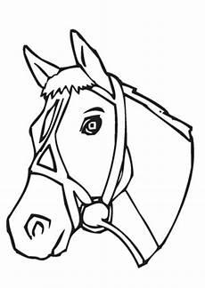 pferde ausmalbilder klein ausmalbilder pferdekopf mit halfter pferde malvorlagen