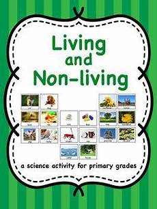 living and living and non living picture sort and writing activity