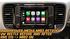 vw discover media retrofit rns 510 to mib2