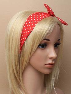 Bandeau Cheveux Pin Up R 233 Tro 50 S Rockabilly Pois