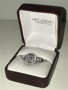 helzberg 2ct diamond and white gold ring i do now i don t