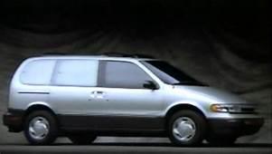 &187 1993 Nissan Quest Manufacturer Promotional Video