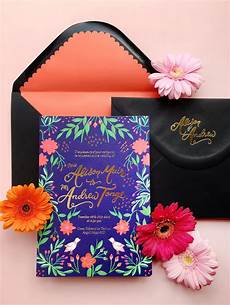 Colourful Wedding Invitations colorful mexican fete inspired wedding invitations oh so
