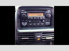 Stereo Reset Code For 2006 Honda CR V (LOCKED RADIO)   YouTube