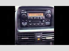 Stereo Reset Code For 2006 Honda CR V (LOCKED RADIO)   YouTube