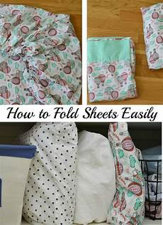 how to fold bed sheets organized 31