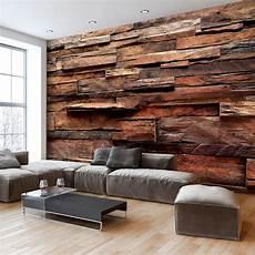 Fototapete Holz Optik Holzwand Vlies Tapete Wandbilder 3