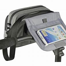 Klickfix Smart Bag Touch Lenkertasche Grau Kaufen