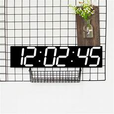 Remote Oversize Wall Clock Screen by Remote Oversize Led Wall Clock 3d Big Screen